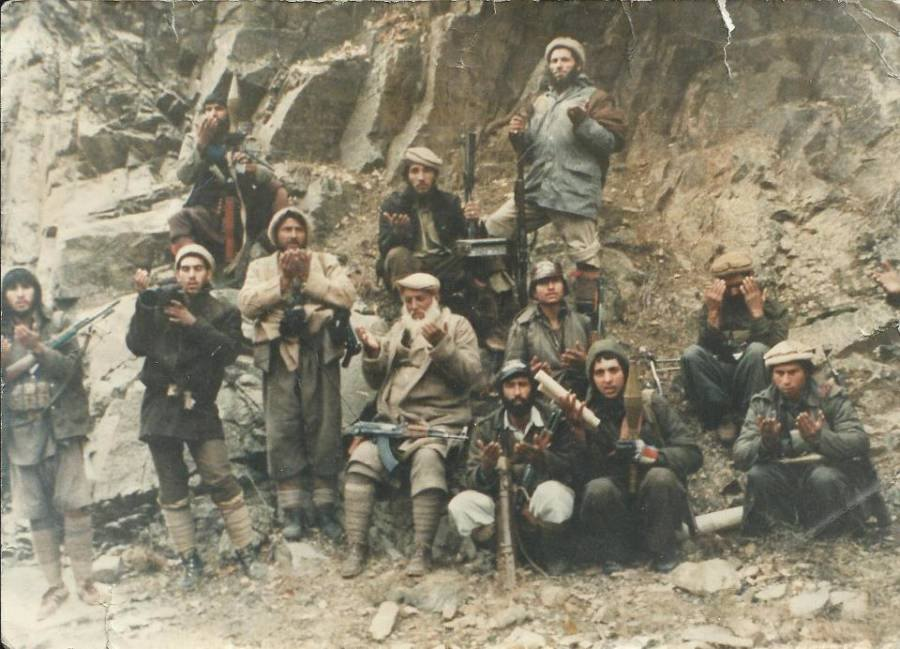 Soviet Afghan War Fighters