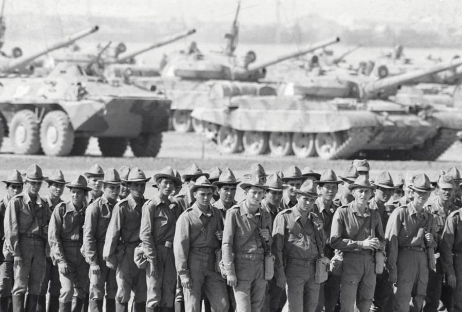 Soviet Afghan War Tanks