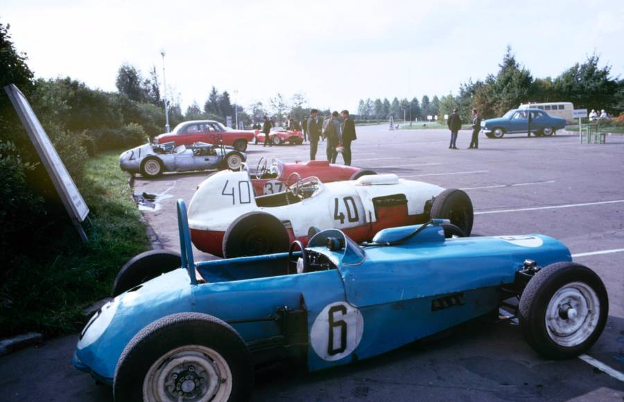 Soviet Racecars Outdoors