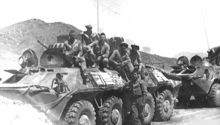 Soviet Tanks Roll In