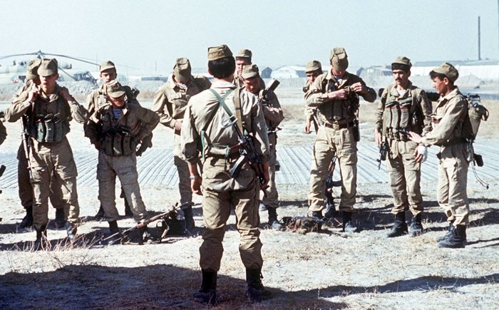 Spetsnaz Arrive In Afghanistan