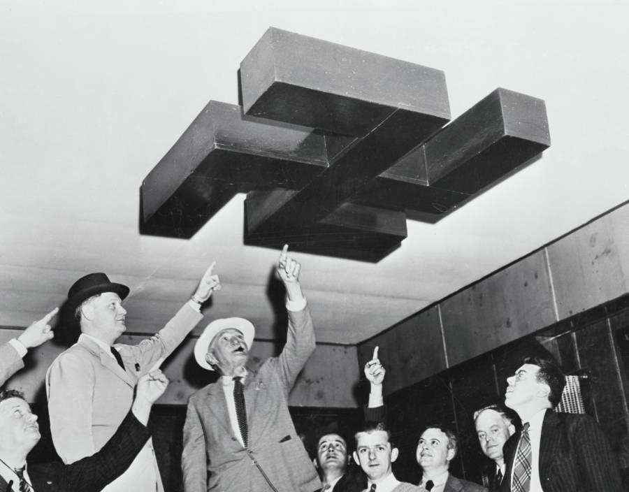 Swastika On Ceiling