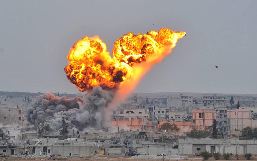 Syrian Air Strike