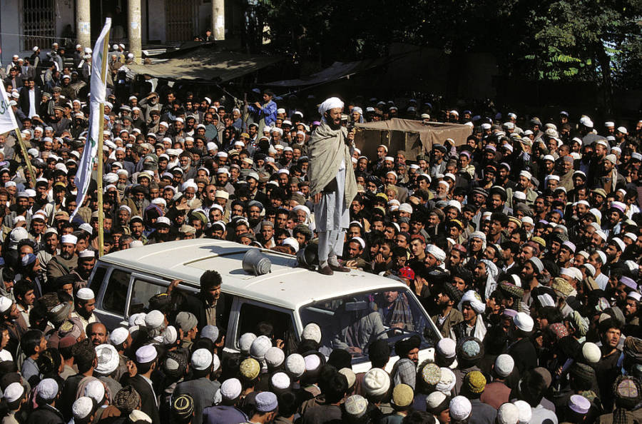Taliban Rally In Kabul
