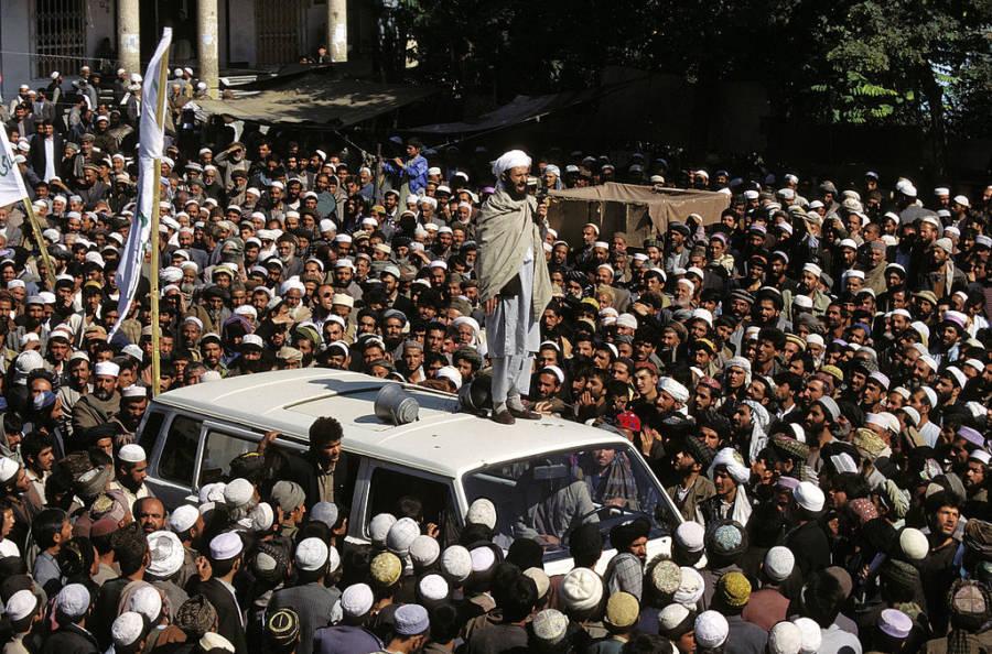 Taliban Rally In Kabul