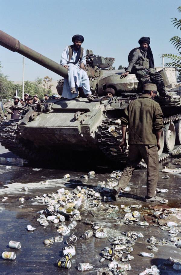 Taliban Using Russian Tank