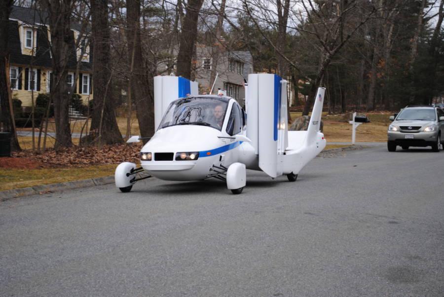 Terrafugia Car