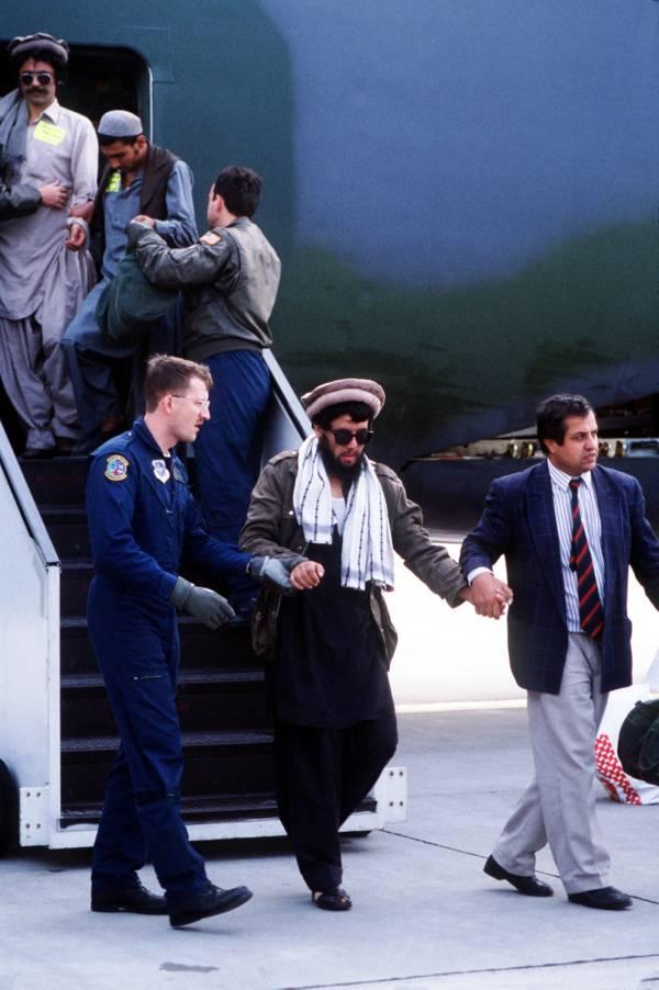 Usa Takes In Mujahideen