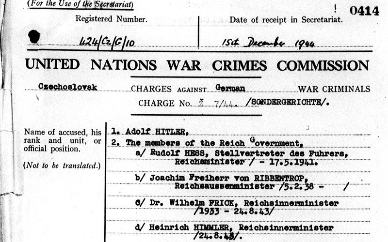 War Crimes Hitler
