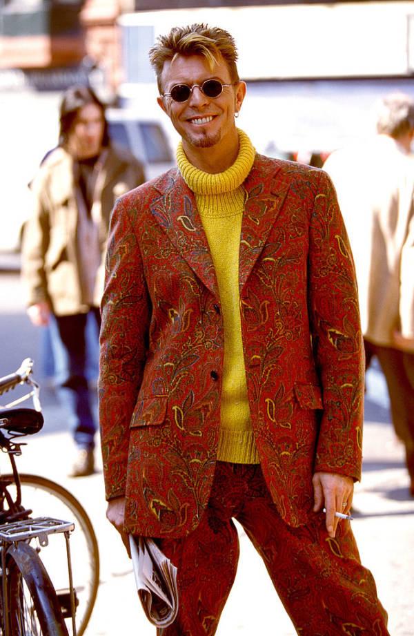 Weird Suit Bowie