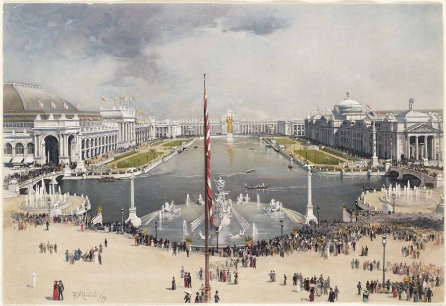 Worlds Fair Chicago 1893 Painting