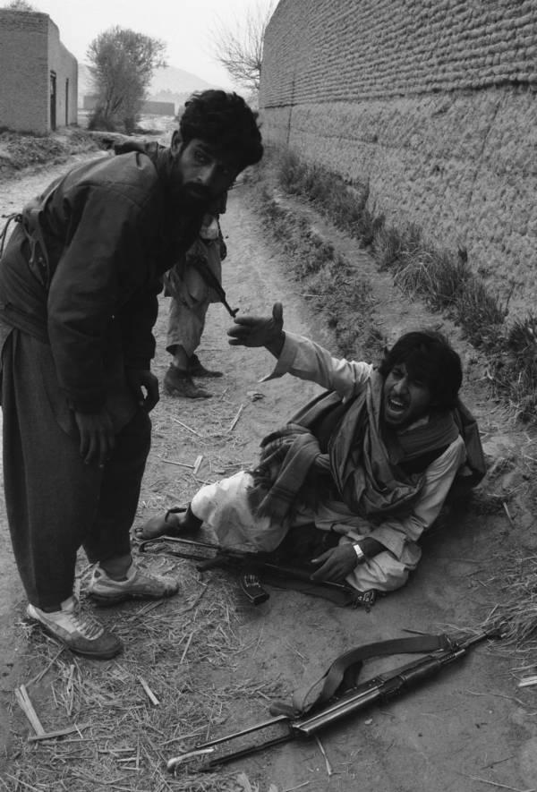 Wounded Mujahideen Rebel