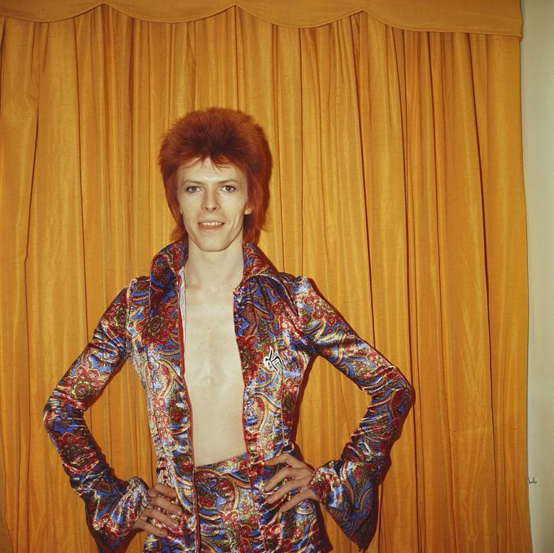 Yellow Curtain Bowie