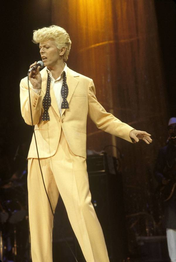 Yellow Hair Bowie Mic