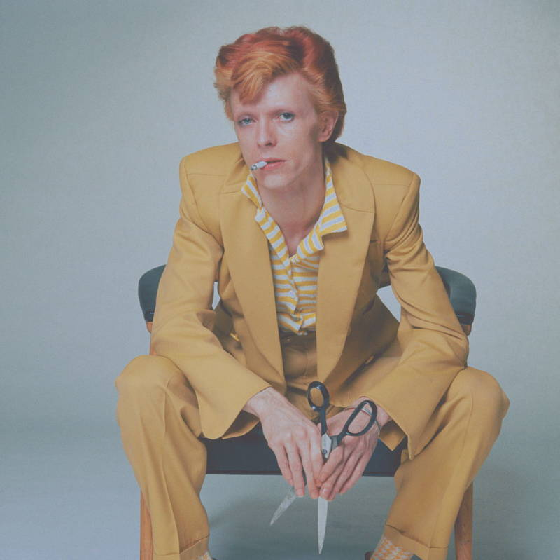 Yellow Suit Bowie