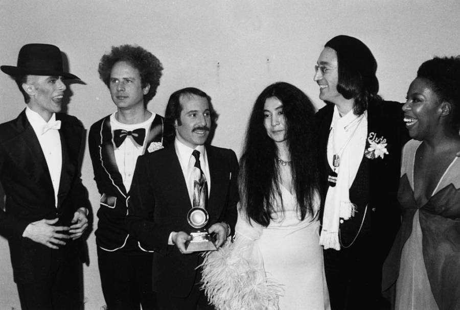 Yoko Ono Bowie Lennon