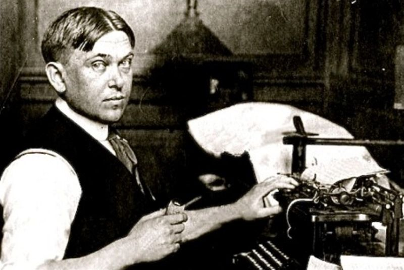 Young Hl Mencken Photo