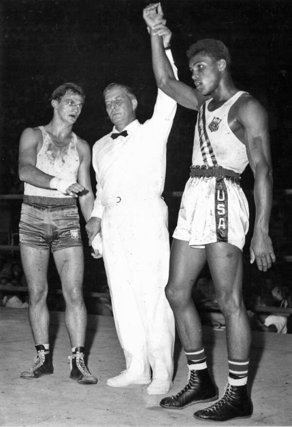Zbigniew Pietrzykowski And Muhammad Ali
