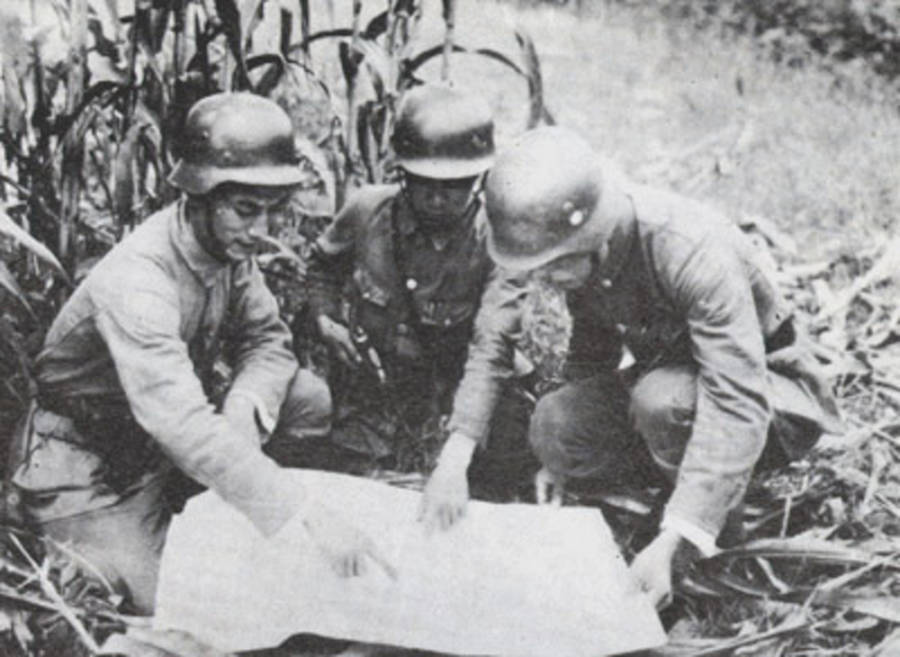 88th Division Studies Map