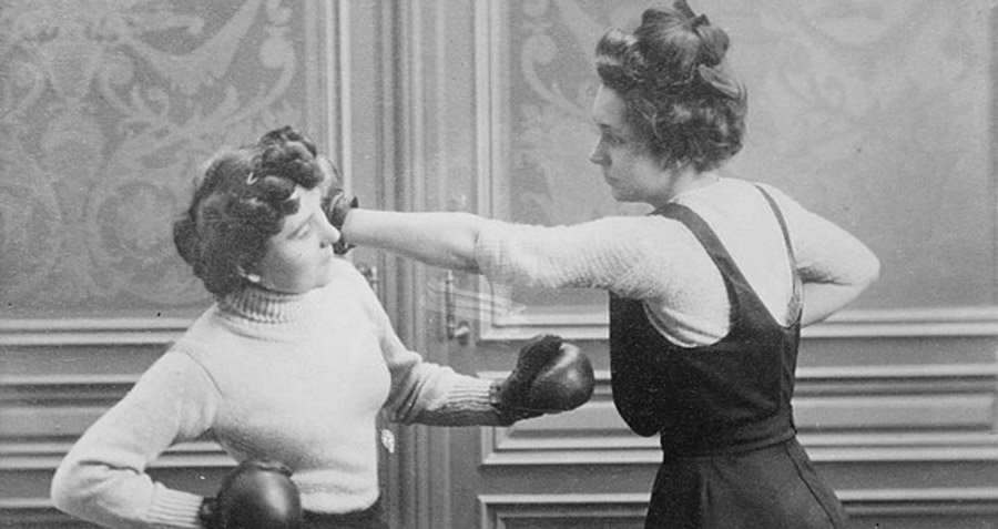 Women S Boxing A Surprising And Brutal Photo History