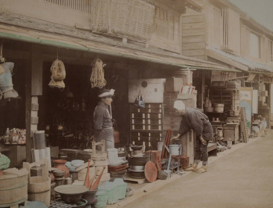 A Street Of Shops