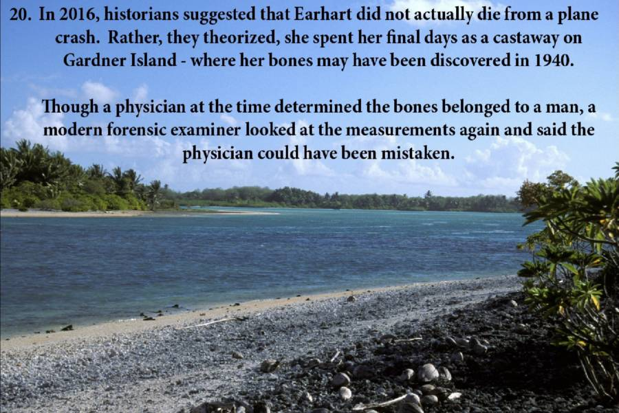 Amelia Earhart Photos Island