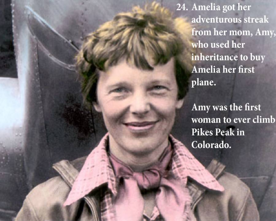 Amelia Earhart Photos Mom