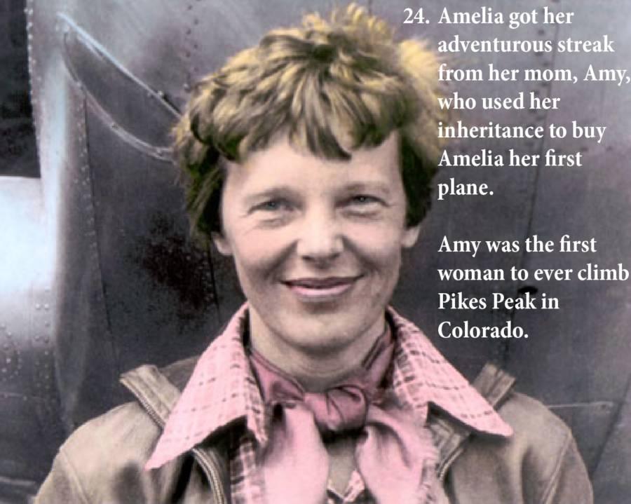 Amelia Earhart Photos Mom