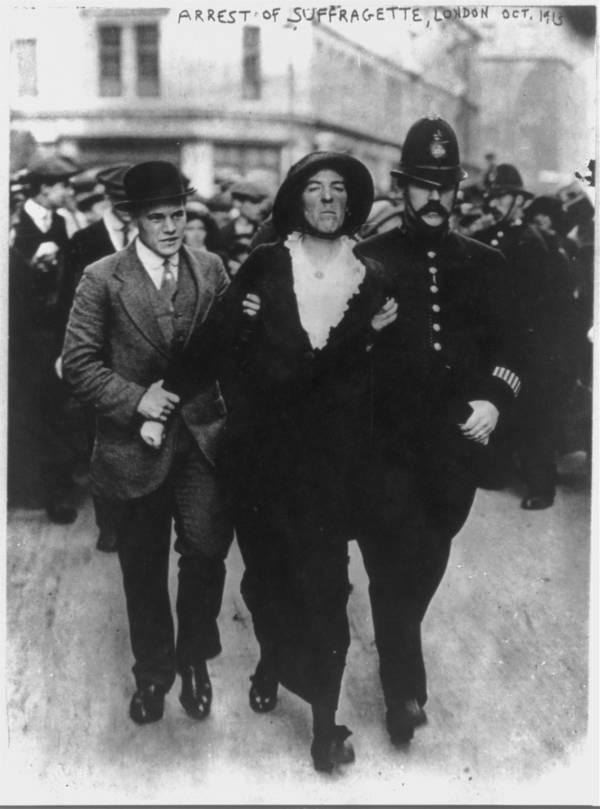 Arrest Of A Suffragette