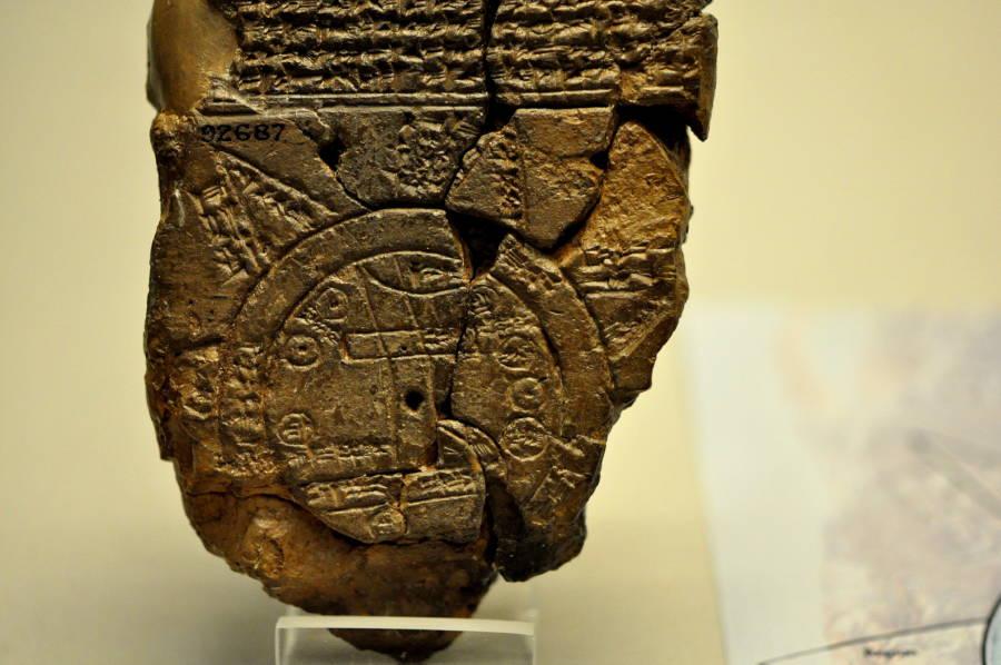 Babylonian Ancient World Maps