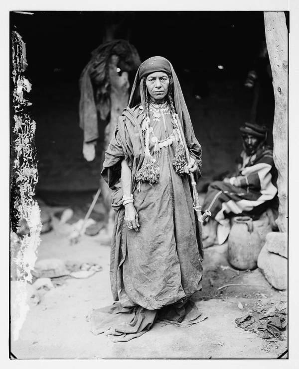 Bedouin Woman With Necklace