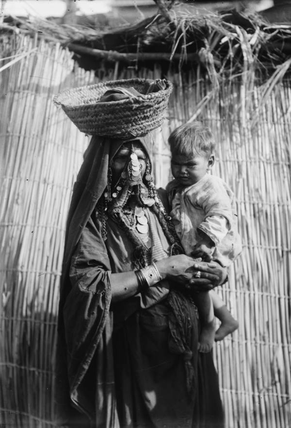 Beersheba Mother With Baby