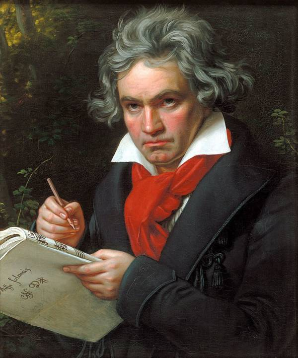 Beethoven Scowl