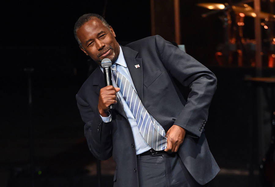 Ben Carson Poverty State Of Mind