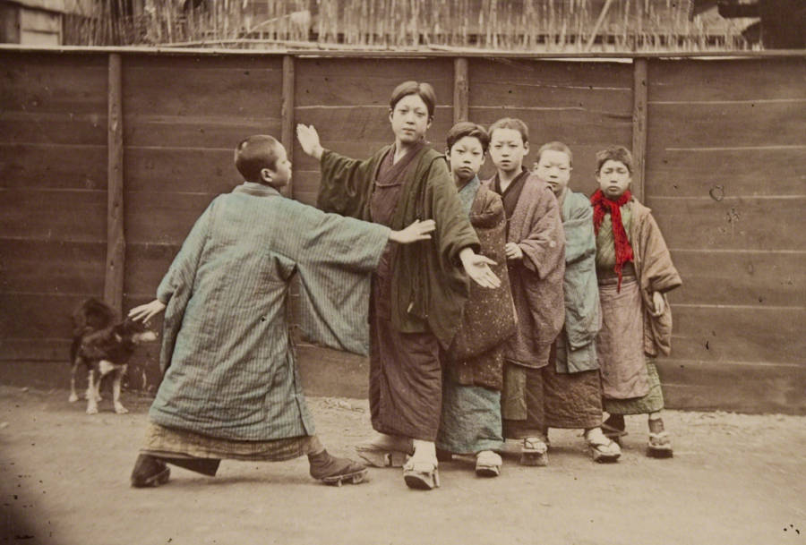 Boys Playing Kotoro
