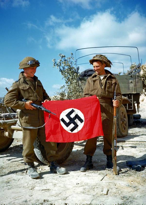 Canadians Swastika Flag