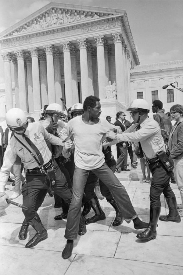 Capitol Protest Cops