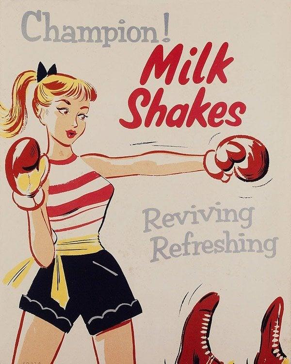 Champion Milkshakes
