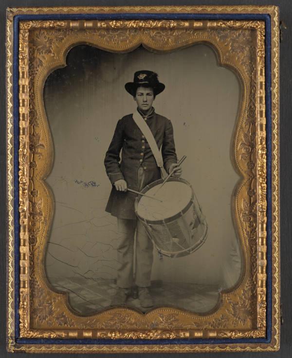Child Soldier Union Drummer