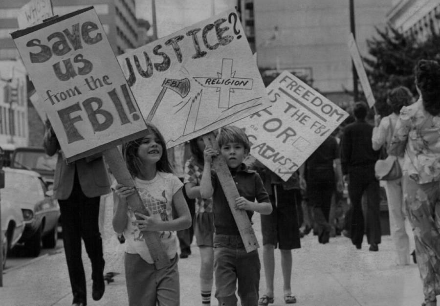 Children March For Scientology