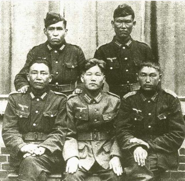 Chinese Soldiers In Nazi Uniforms
