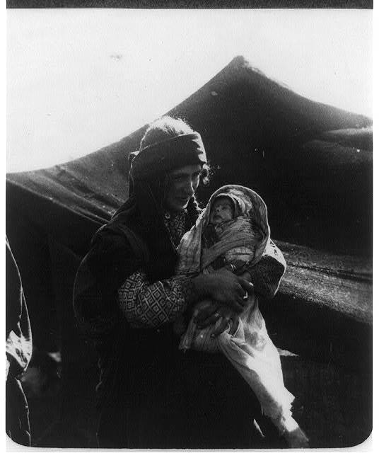 Christian Bedouin With Child