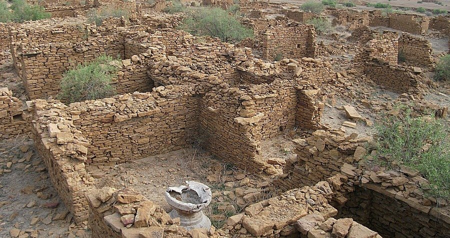 Photograph Of Kuldhara
