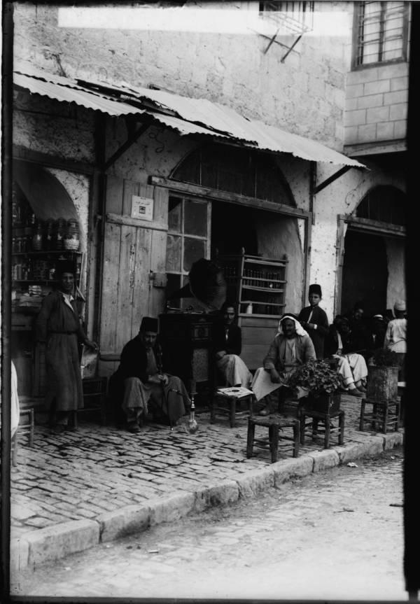 Coffee Shop With Gramophone