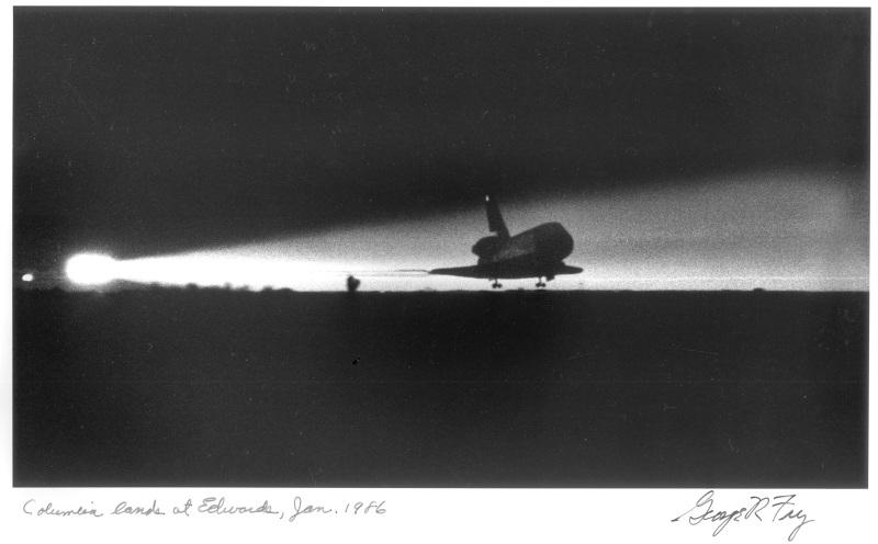 Columbia Landing 1986