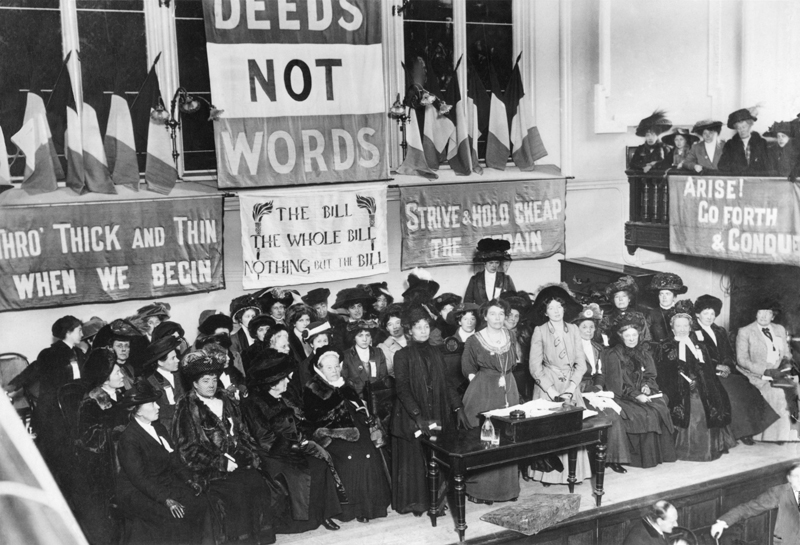 Deeds Not Words 1908