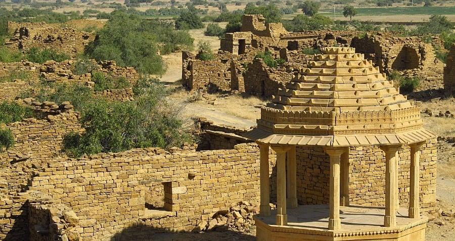 Desert India Kuldhara Abandoned Ghost Town