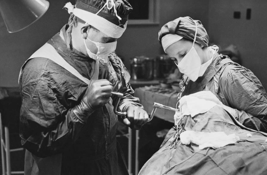 Doctor Lobotomy Patient Hospital
