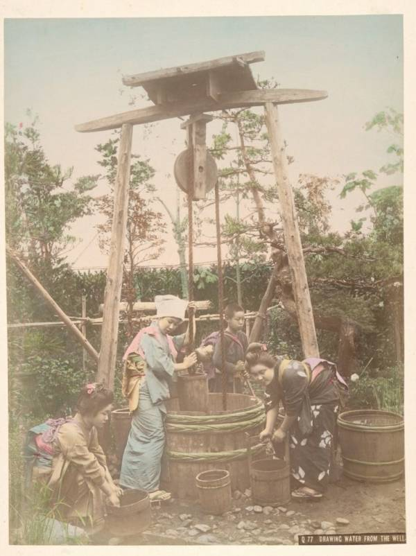 Drawing Water From Well