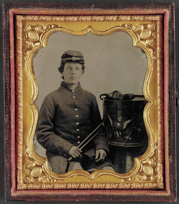 Drummer Boy Portrait